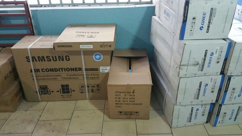 Ar condicionados split R410 Samsung 12000BTU novos na caixa