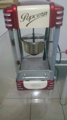 Máquina de pipoca a venda
