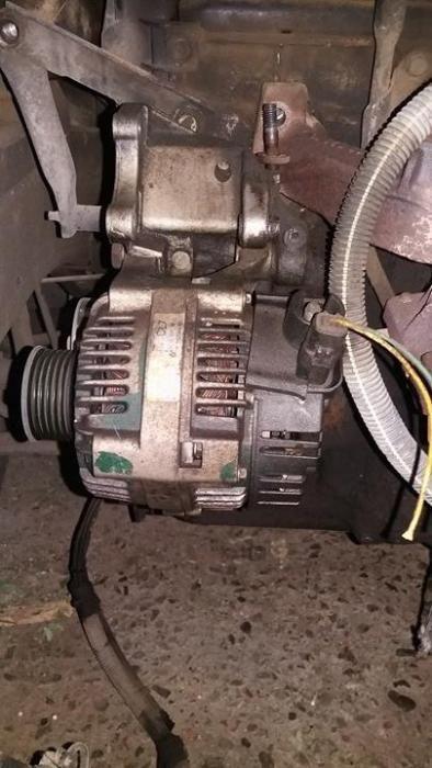 Alternator Peugeot 206 motor de 1.1 benzina.