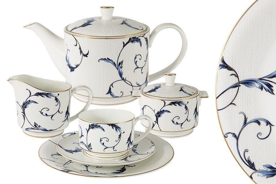 """Продам чайный сервиз костяной, на 6 персон, """"Элегия"""" Anna Lafarg Emil"""