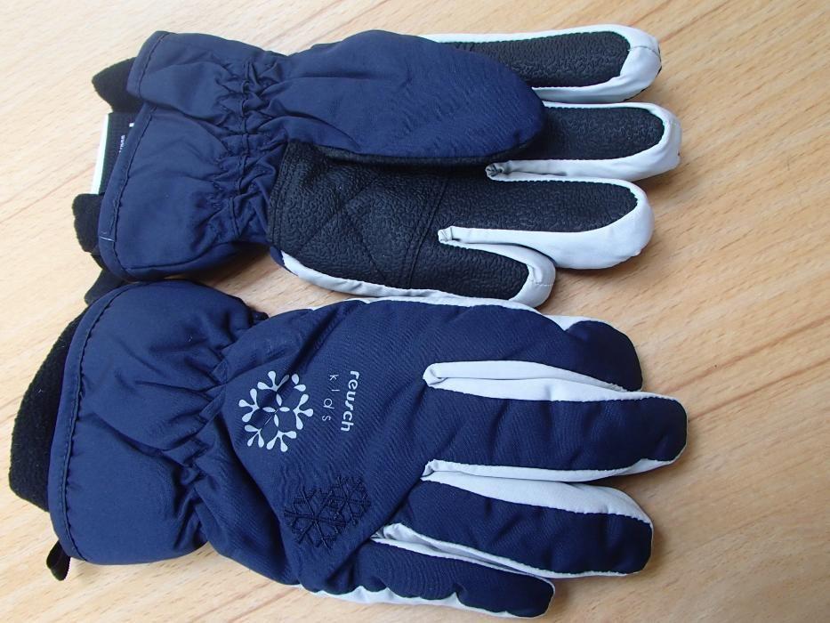 Продавам детски водоустойчиви ръкавички с пръсти reusch и термоизолаци