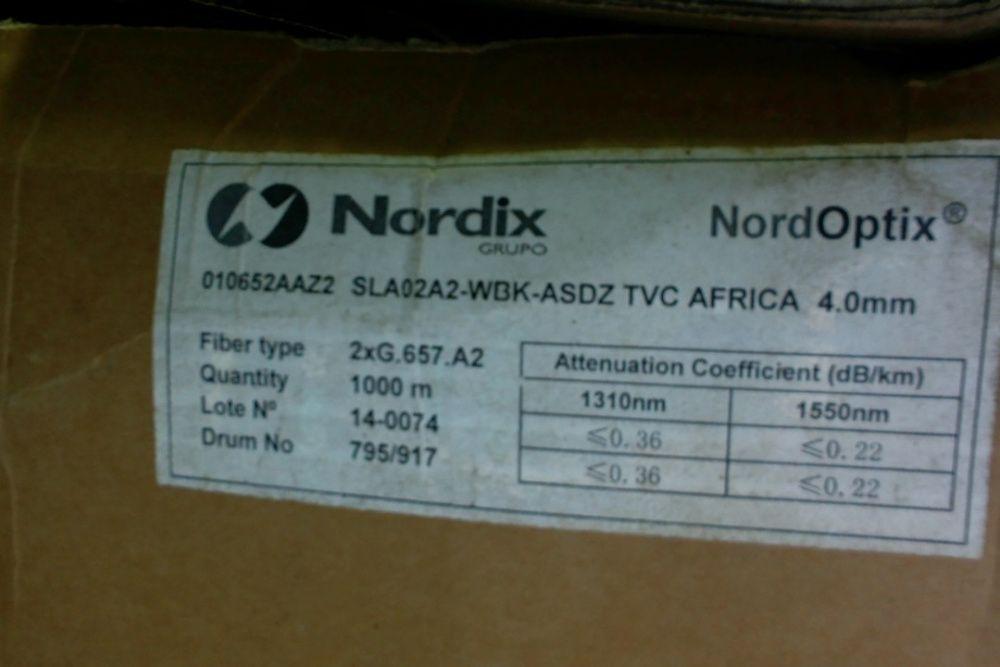 Vendo 1000 m de Cabo Fibra Optica Single Mode