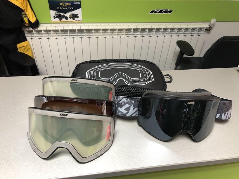 Ochelari SKI-DOO/LYNX Radien Goggles Beius - imagine 1