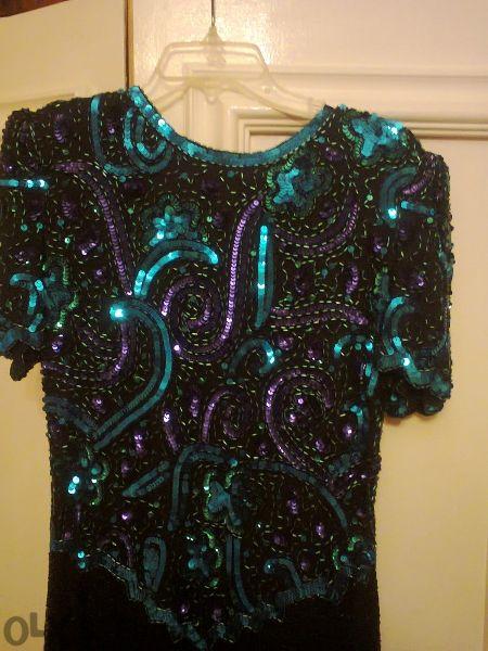 Чисто нова, официална дълга рокля, внос Америка
