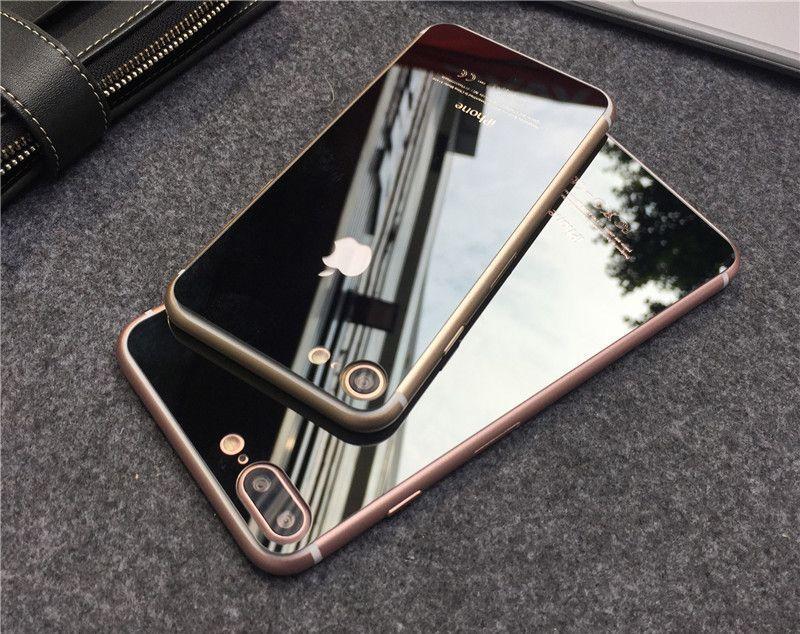 9H Огледален стъклен протектор за IPhone 7, 7 Plus, 8, 8 Plus, X, XS