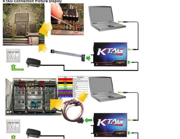 K Tag V2.13 Firmware V6.070 Chip Tuning ktag k-tag ктаг гр. Ямбол - image 2