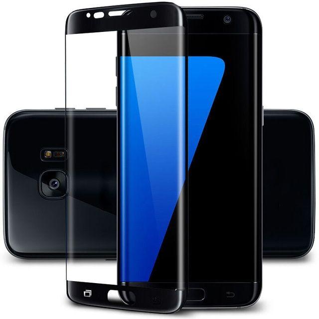 Folie Sticla Curbata 3D Samsung S6 Edge,S7 Edge