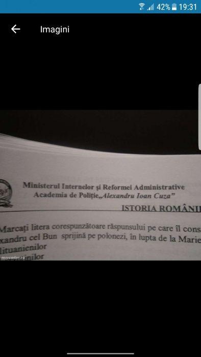Materiale oficiale academia de politie
