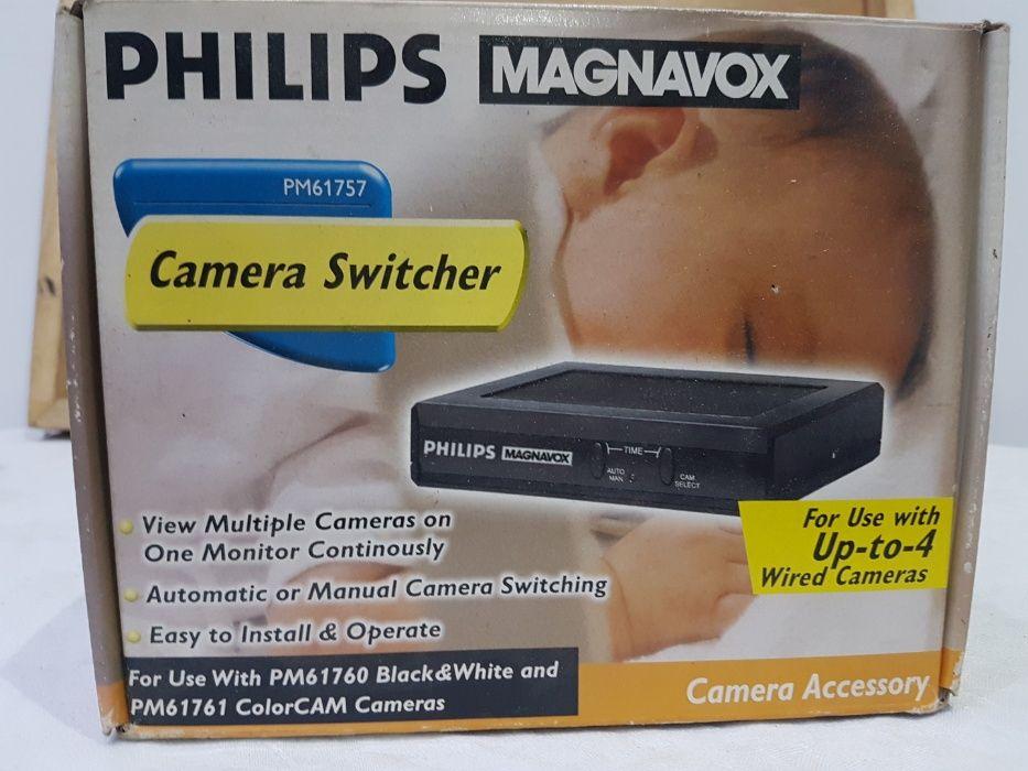 Camera switcher DISTRIBUITOR camere supraveghere 4 cai cu preselectie