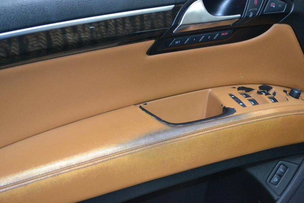 Reconditionare Interioare Audi Q7-Vopsea Piele Scaune Volane Plafoane