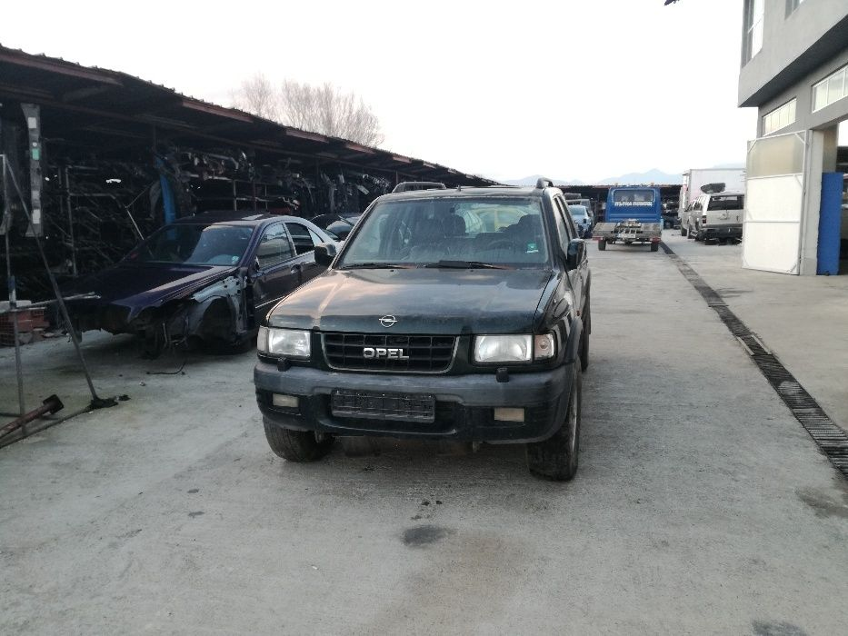 Опел Фронтера 2.2 2001г 115кс. Opel Frontera На Части