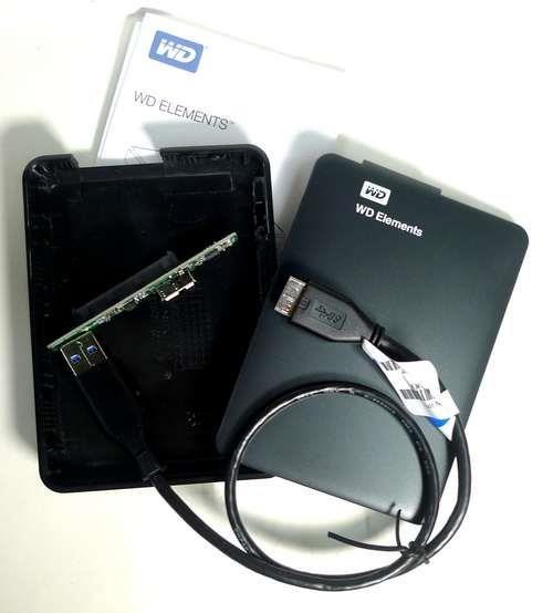 Caixa para Disco Externo (USB 3.0)