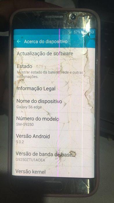 Samsung Galaxy S6 EDGE Gold 32Gigas original. Usado Viana - imagem 3