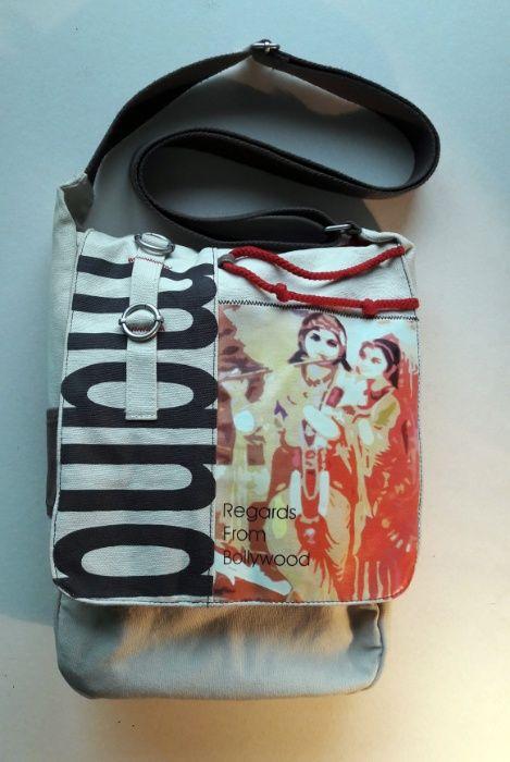 Хлопковая сумка с принтом