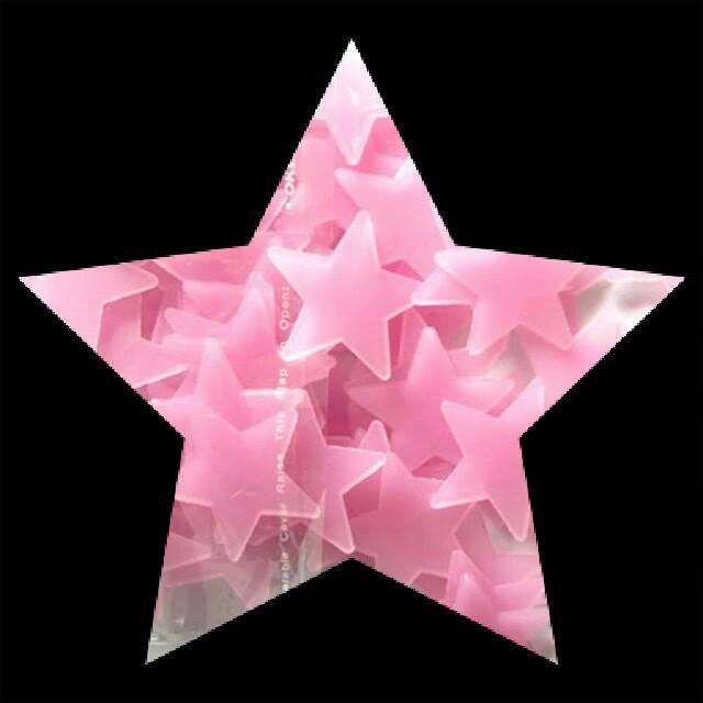 50 Estrelas Fluorescentes (brilham no escuro) - decorativas Malhangalene - imagem 6