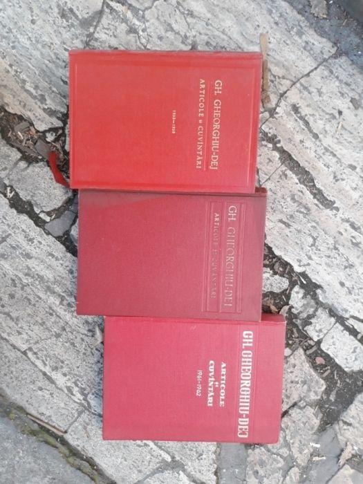 GH.GHEORGHIU-DEJ.Articole si cuvantari 1955-1959-1961-1962