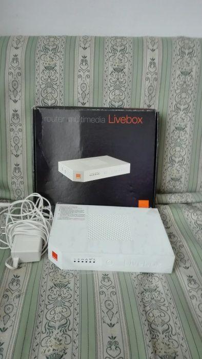 Router multimedia live box