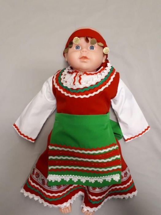 Бебешка тракийска носия момиче
