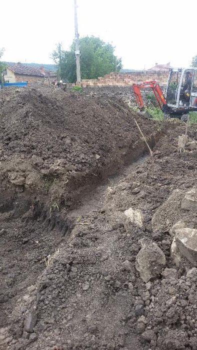 Изкопи с мини багер и транспортни услуги със самосвал до 3,5т гр. Велико Търново - image 11