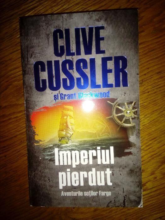 carte Clive Cussler ''Imperiul pierdut''