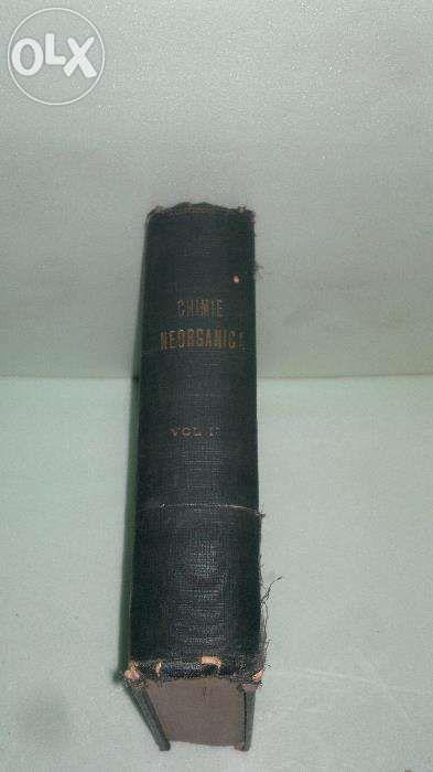 chimie anorganica curs litografiat al prof dr GG Longinescu editi 1929