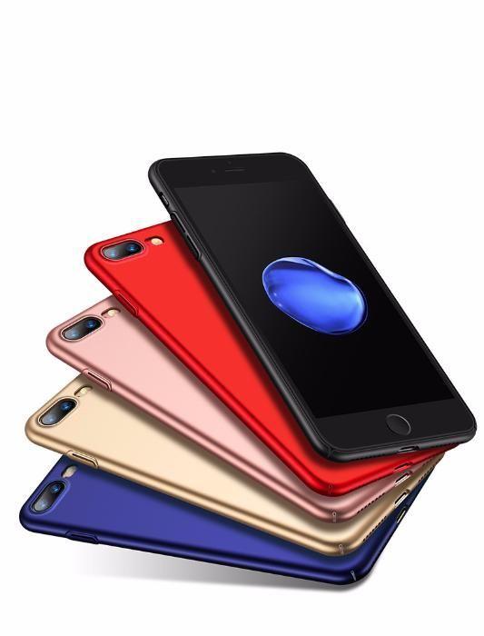 Thin Fit ултра тънък твърд мат кейс за iPhone 6, 7, 8, 7+, 6+, 8 Plus гр. София - image 1