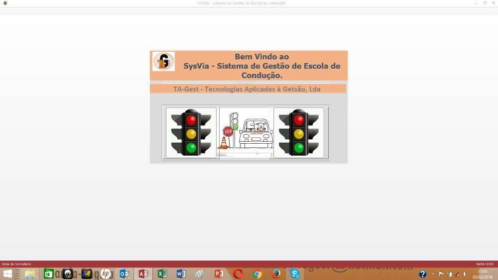 SysVia - Software de Gestão de Escola de Condução