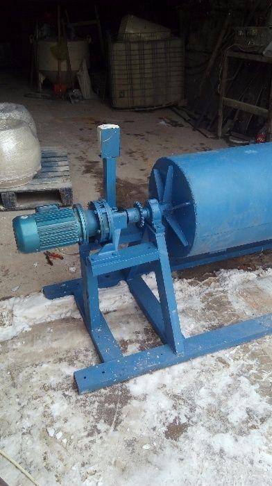Станок-галтовочный барабан для галтовки любых камней 300 кг час