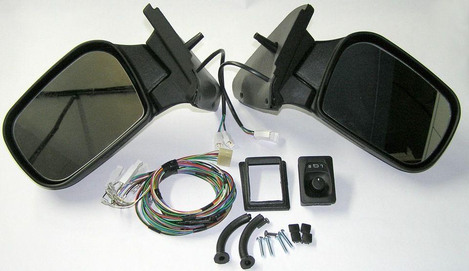Комплект зеркал ВАЗ 21214 нового образца, электропривод, обогрев с наб