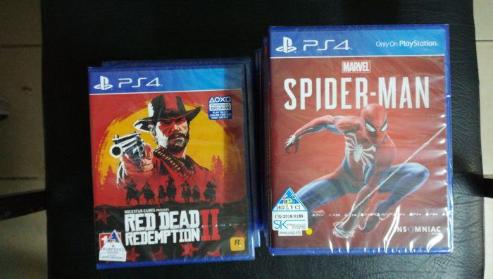 Red dead 2 redemption para Ps4 selado
