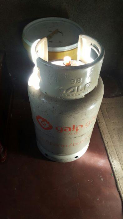 Botija de 11kg selada com gás