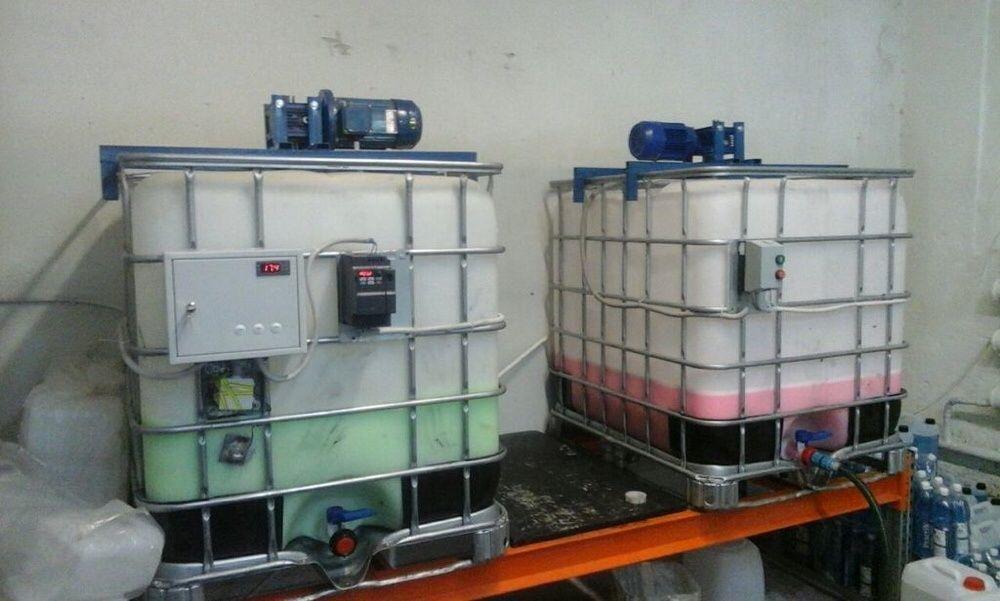 Оборудование для производства Автошампуней, Автохимии, Бытовой химии.