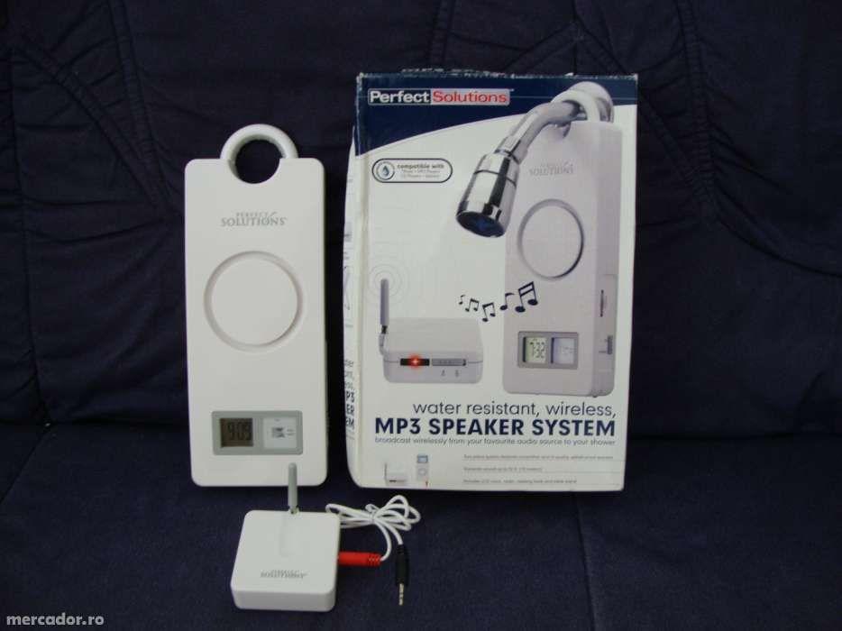 MP 3 wireless pentru baie sau cabina de dus