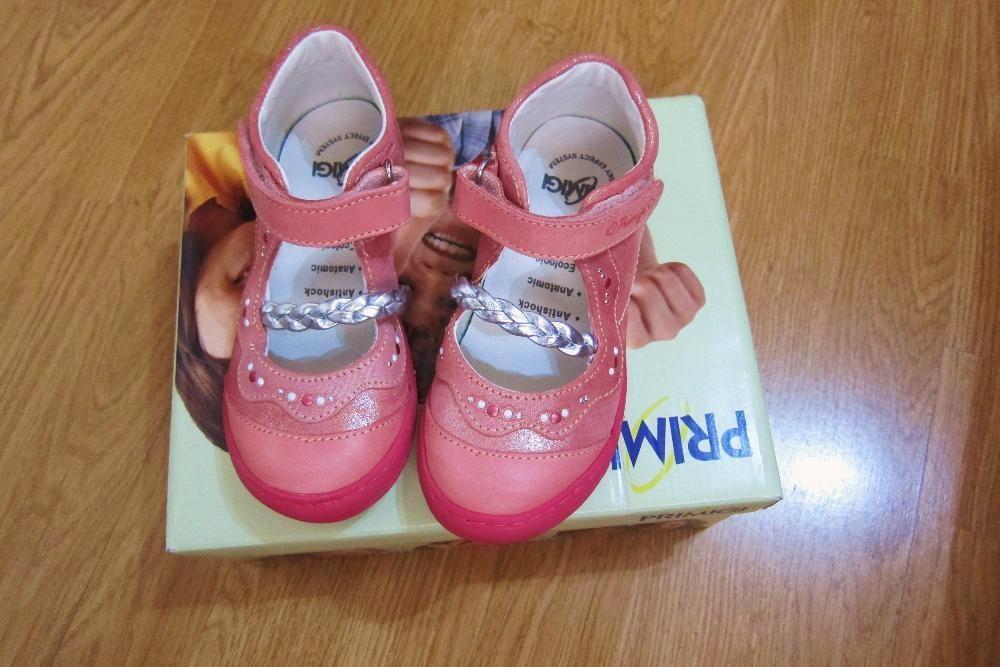 PRIMIGI pantofi talonet,roz,brant detasabil sky effect.,27-28 noi