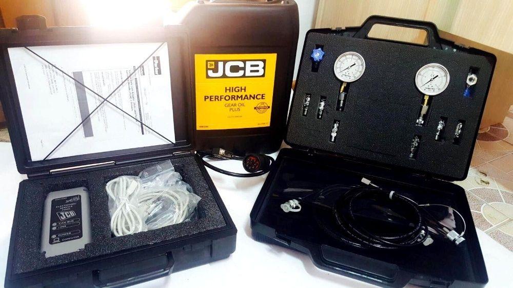 Vand TESTER JCB si TRUSA Verificare Presiune Hidraulica 3cx 4cx 2cxJS