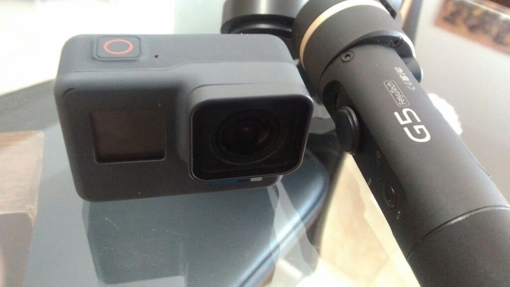 GoPro Hero 6 + gimbal feiyu G5