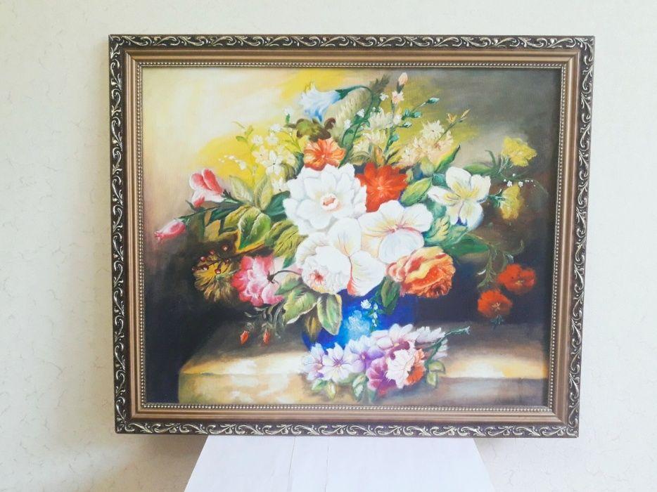 """Картина """"Букет цветов"""", ручная работа"""