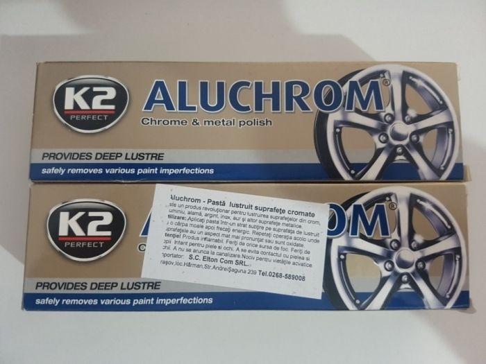 Polish crom lustruire suprafete cromate bandouri crom chrom k2