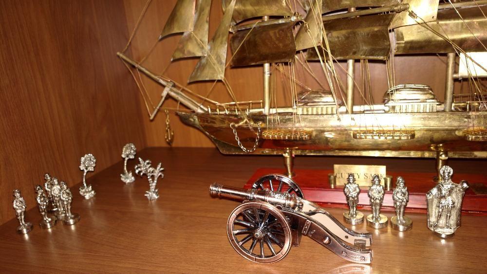Corabie Cutty Sark - macheta metal DE COLECTIE - cadou deosebit