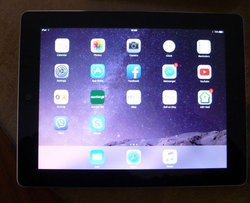 AppleIPAD 4 Generation-16GB КАТО НОВ!Перф. състояние