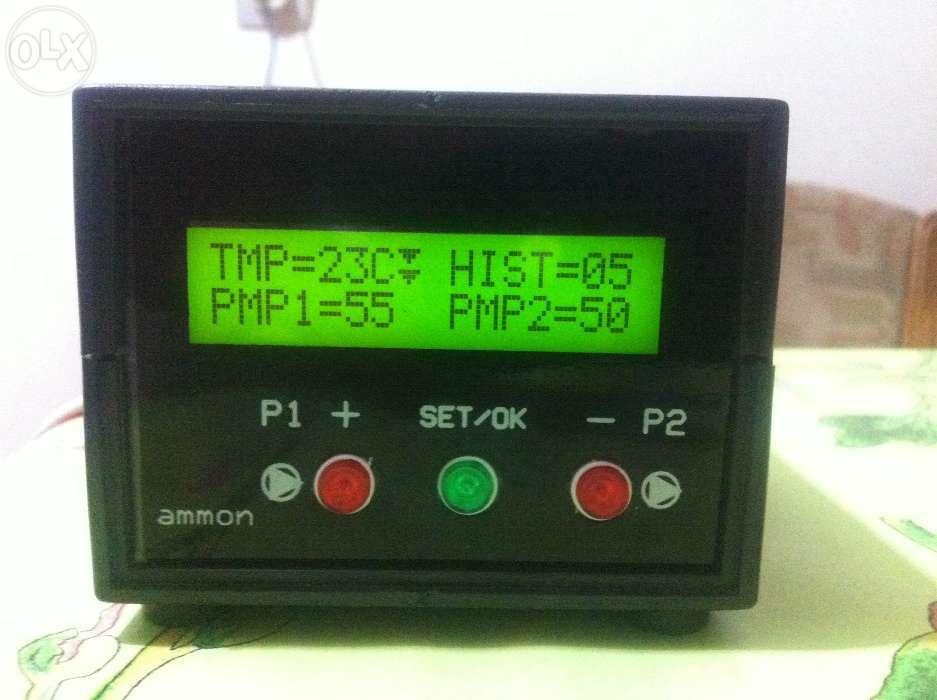 Termostat centrala/panou solar/semineu