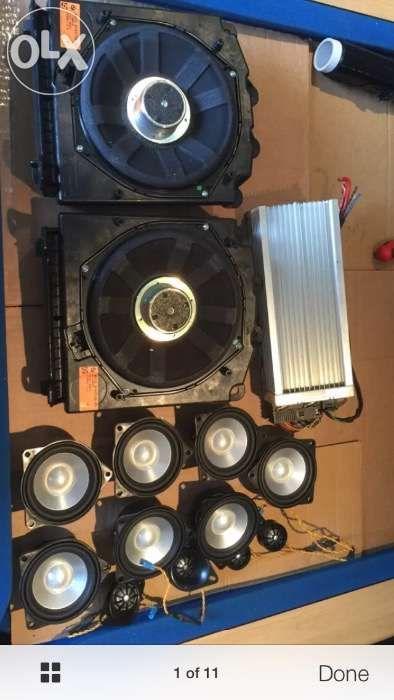 Sistem audio TOP HI-Fi Professional DSP (LOGIC 7) BMW E60/61/63/64 E90