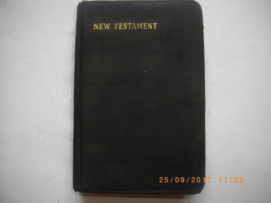 1809г-Антикварна Книга-New Testament-New York-Since 1809-АнглийскиЕзик