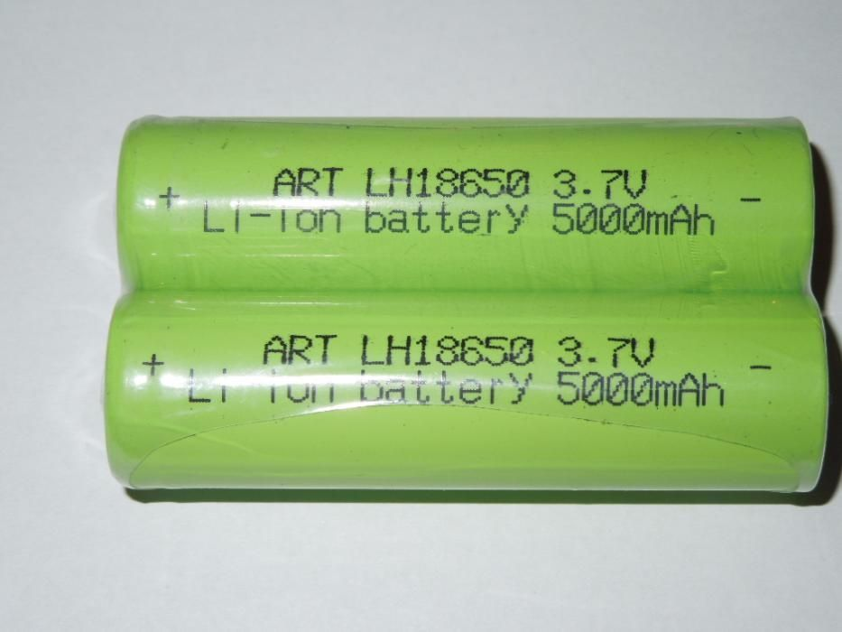 Acumulator lanterna li- ion ART 18650 3,7V 5000 mAh DE CALITATE44GRAME