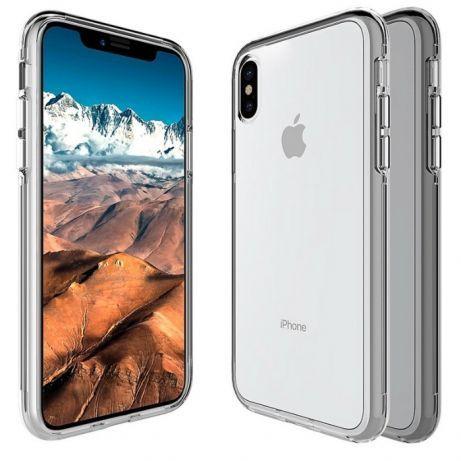 Iphone X 10 Husa 360 Full Cover Ultra Slim Spate Plastic Fata Silicon