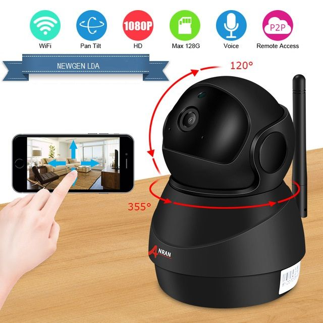 Câmera Wifi (ANRAN) 1080p