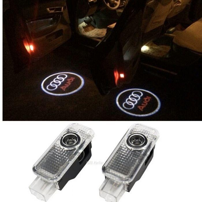 Proiectoare dedicate pentru usi cu logo Audi