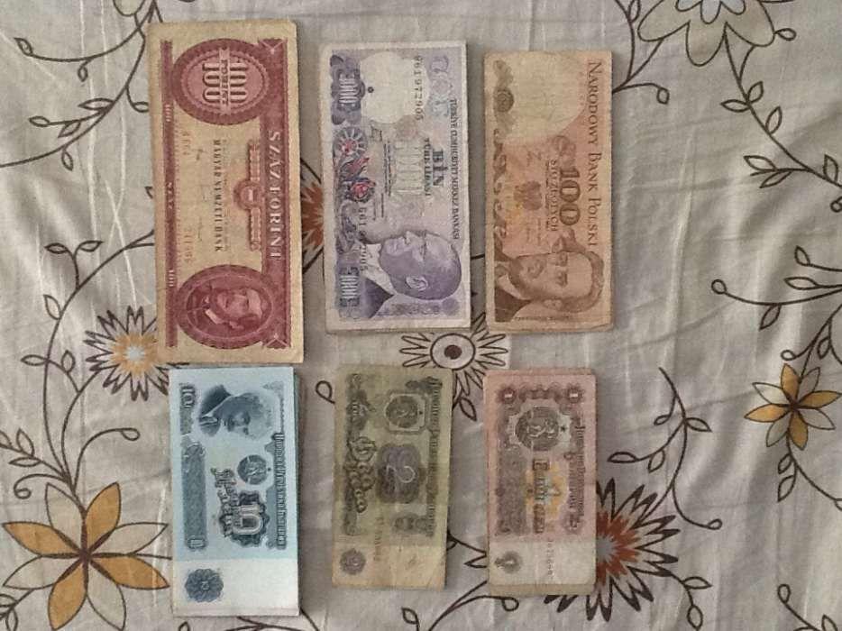 Vând sau schimb bancnote și monede