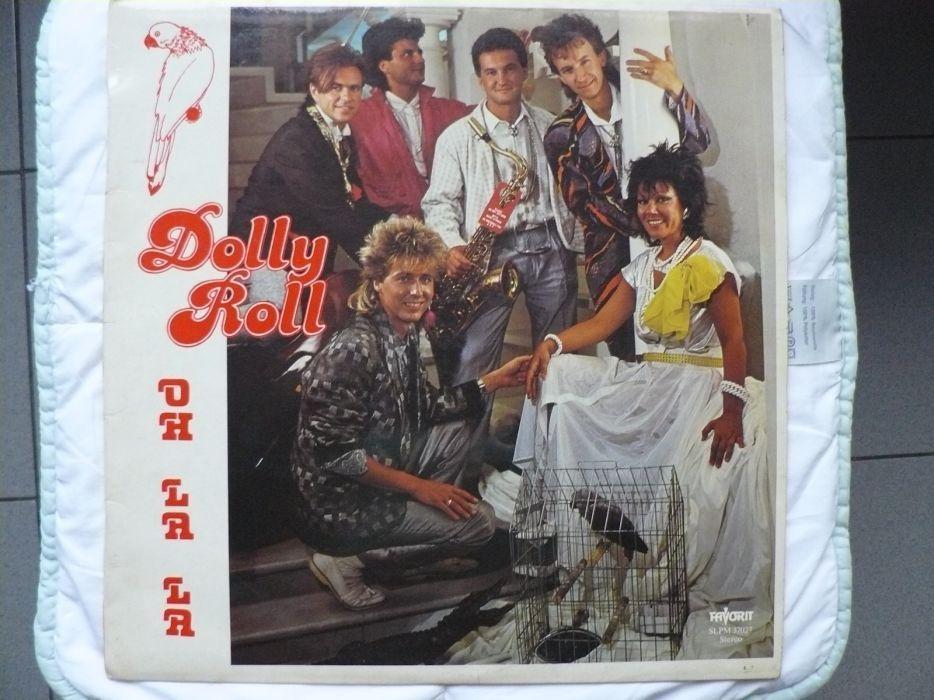"""Disc Vinil LP - """"DOLLY ROLL - OH LA LA"""" an 1986, disc de colectie"""