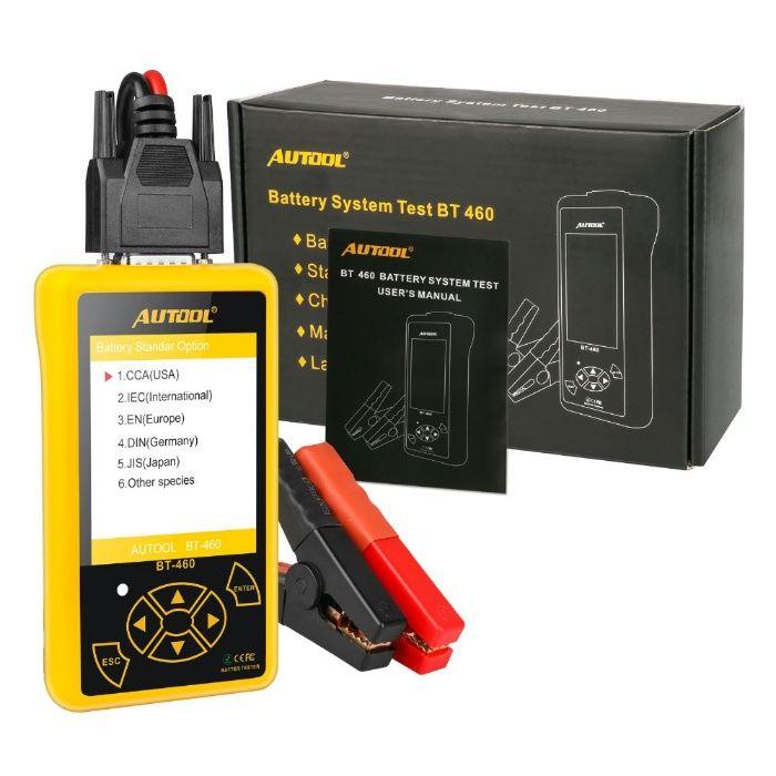 Tester profesional baterii auto Autol BT460 12/24v